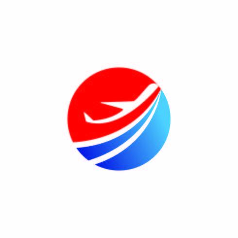 Airplane icon vector illustration design