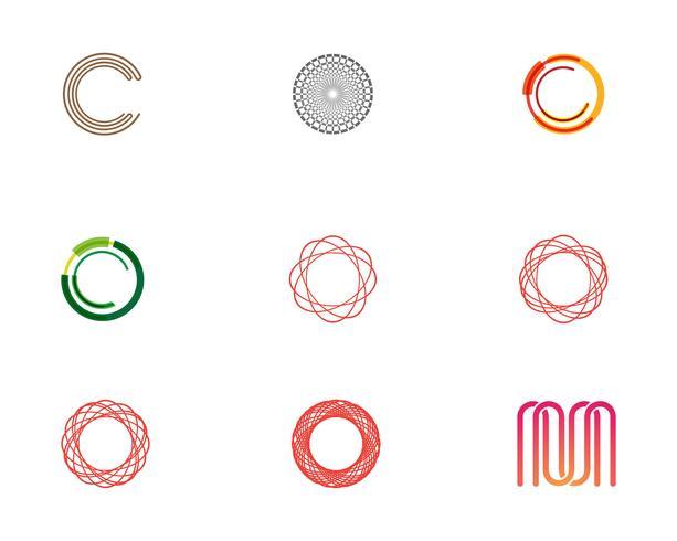 Circle  Logo Template vector icon