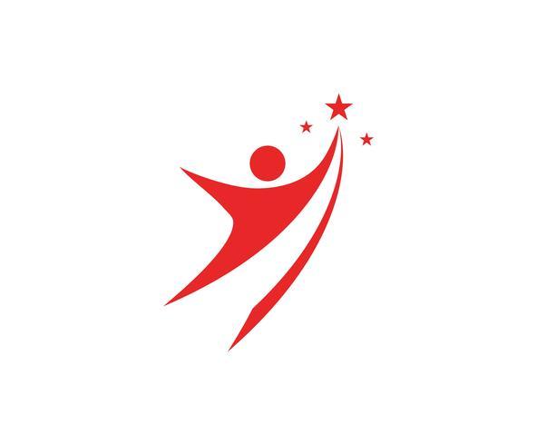vetor de ilustração do líder personagem sinal logotipo