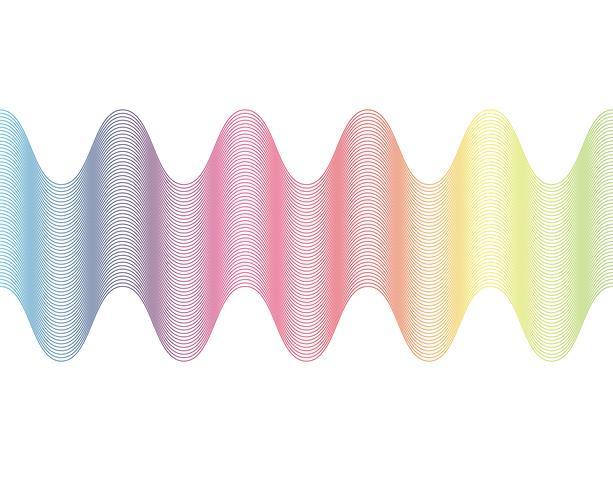 Bakgrundsvektorer med våglinje abstrack