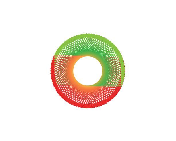 Vettori di logo linea Circle