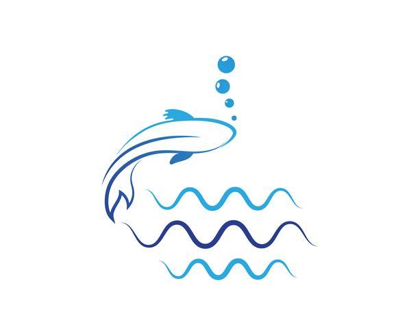 Diseño de carpa koi sobre fondo blanco. Animal. Icono de pescado. Submarino. Fácil editable en capas