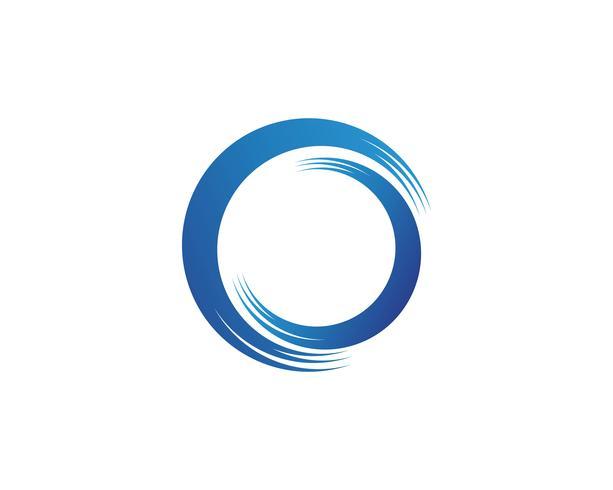 Création d'illustration vectorielle logo C wave