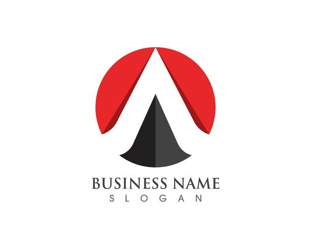 A Letter Logo Business Template Vector