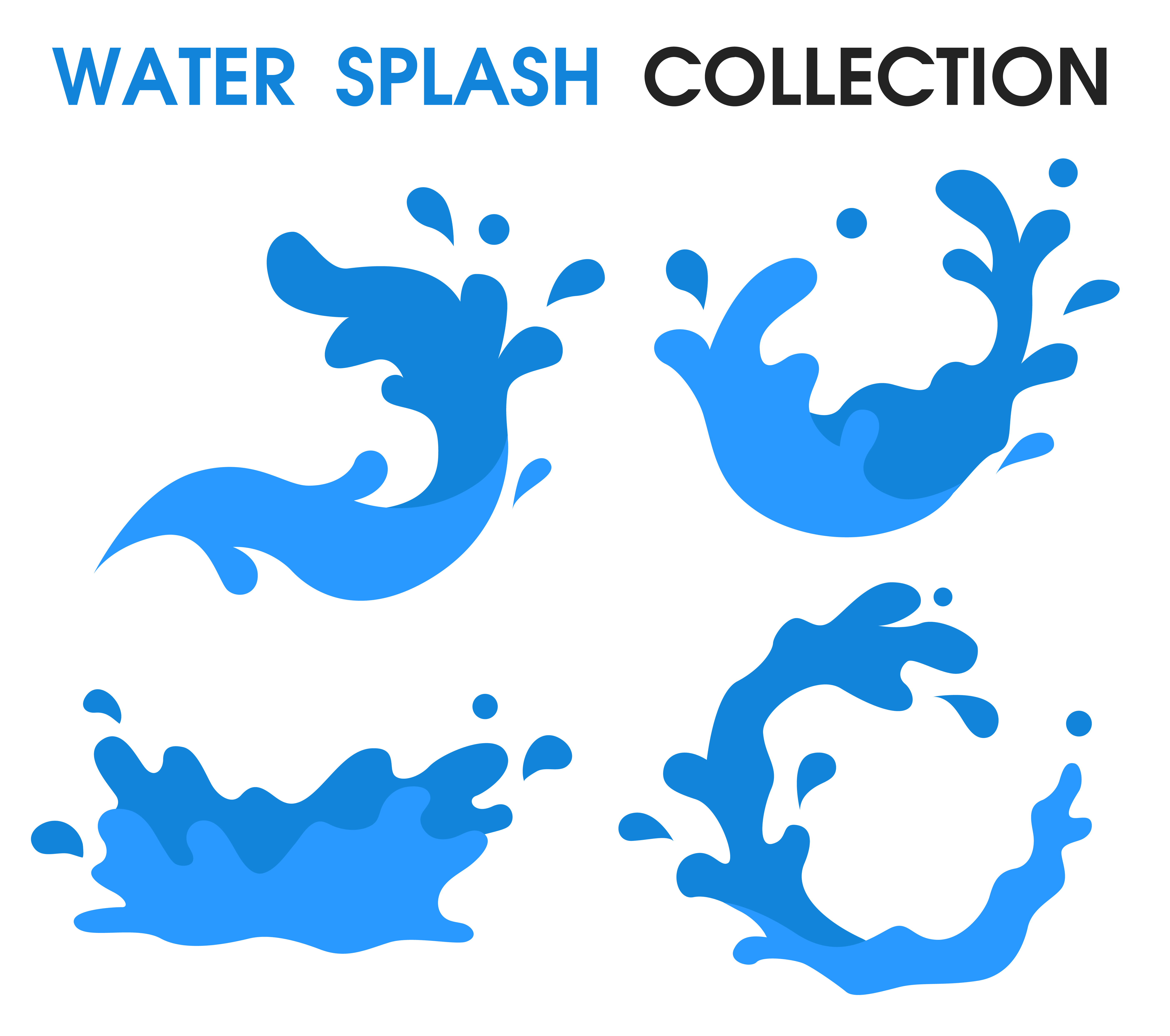 Water Splash icon Simple cartoon style. - Download Free ...