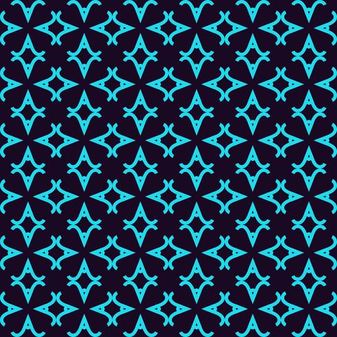 Seamless pattern. Ornament of lines and curls. Linear abstract background. vector