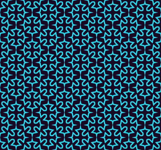 Sömlöst mönster. Prydnad av linjer och lockor. Lineär abstrakt bakgrund.