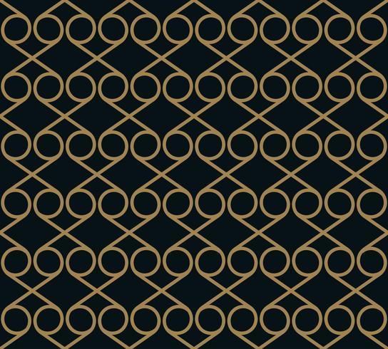 Vector sin patrón Textura con estilo moderno. Repitiendo baldosas geométricas a partir de elementos de rayas.