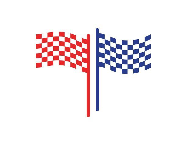 bandera plantilla vectores y símbolos de vectores