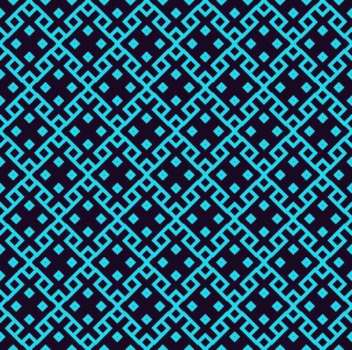 Patrón lineal sin fisuras Textura elegante con formas geométricas repetidas. vector