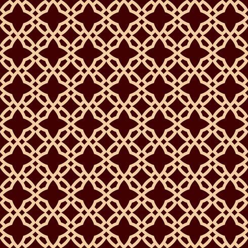 Nahtlose geometrische Linienmuster. Zeitgenössisches Grafikdesign. Endlose lineare Beschaffenheit für Tapete, Musterfüllen, Webseitenlinie Hintergrund. Einfarbige goldene braune geometrische Verzierung