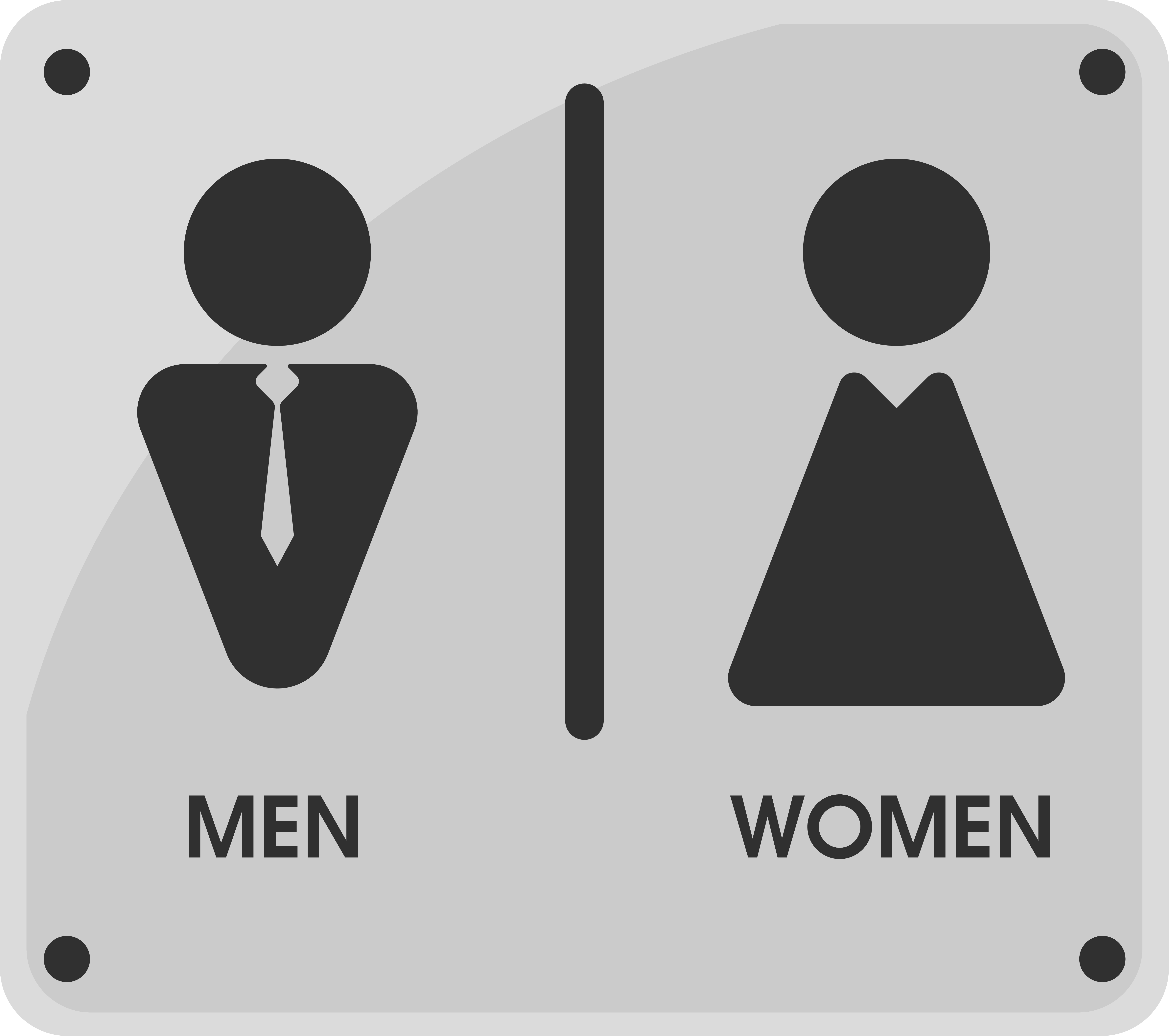 men and women toilet icon themes that looks simple and modern. vector  illustration. 600529 vector art at vecteezy  vecteezy