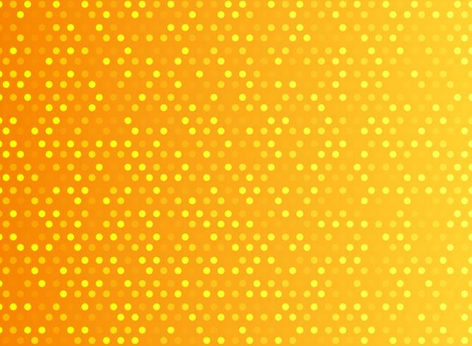 Tecnologia astratta digitale. Punti del modello arancione.