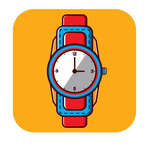 Plantilla de logotipo libre de reloj de pulsera