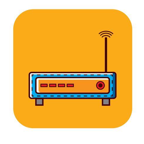 Logotipo livre de roteador