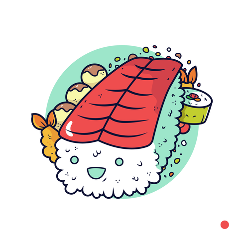 Japanese Snack Vector