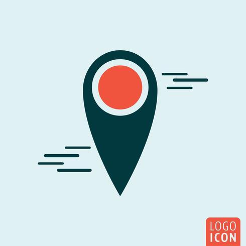 Icono de pin de mapa