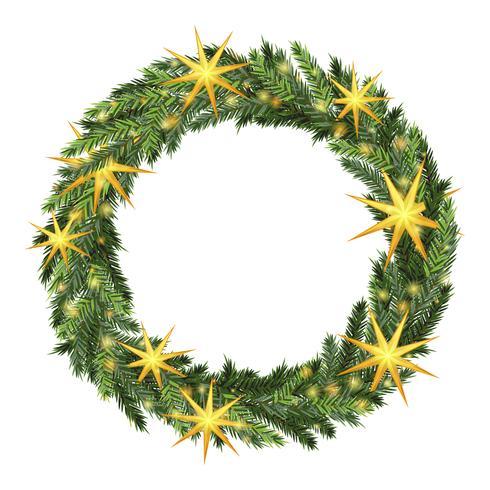 photo regarding Christmas Wreath Printable referred to as Xmas wreath template - Obtain Totally free Vectors, Clipart