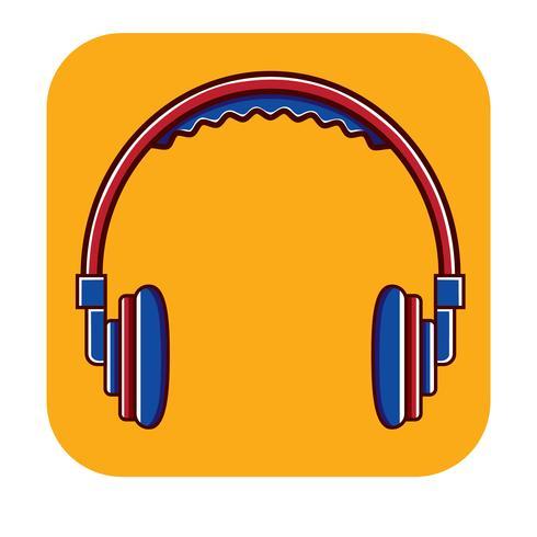Head Phone Free Logo template vector