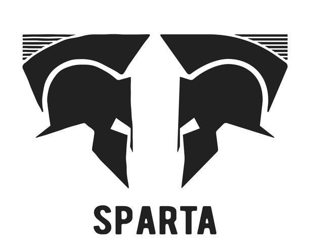 Spartaanse helm pictogram