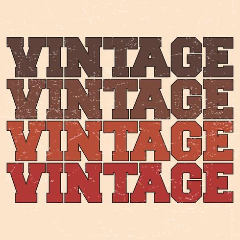 Timbro vintage Varsity
