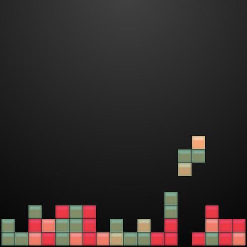 Gamla videospelplatsen vektor