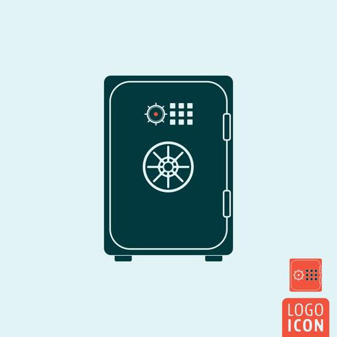 Safe icon design minimal