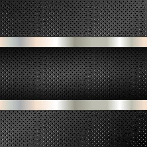 Technology background perforated circles vector