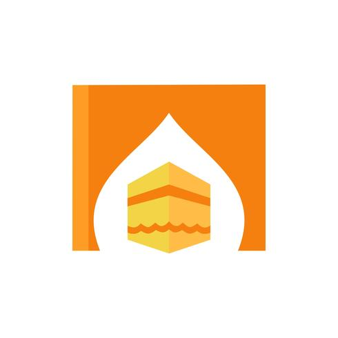 kaaba platt ikon design