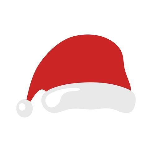 Gorro de navidad santa claus vector