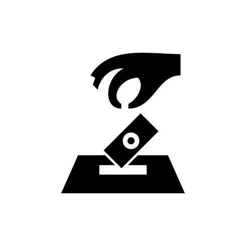 Ramadan sadaqah icon glyph. Ramadan kareem vector