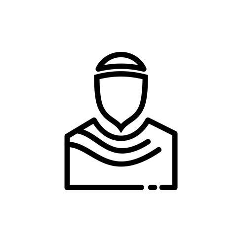 Esquema de icono musulmán. Ramadan Kareem vector