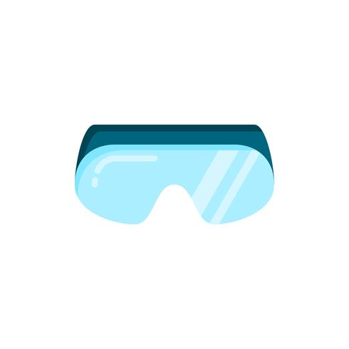 Safety Goggles flat icon