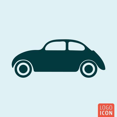 Icona auto d'epoca