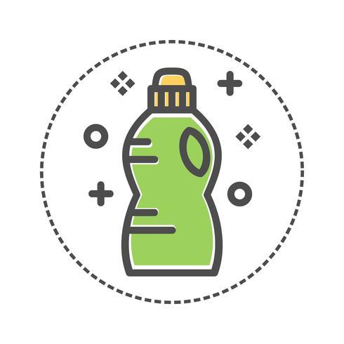 bouteille de détergent à lessive