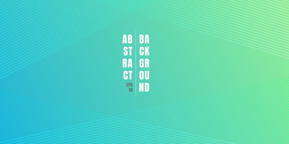 El fondo vibrante azul y verde abstracto del gradiente del color con las líneas diagonales modela textura. Fondo suave de color claro con lugar para texto