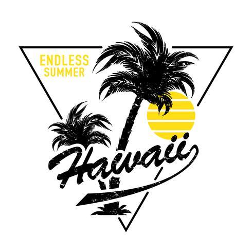Diseño sin fin de verano de Hawai