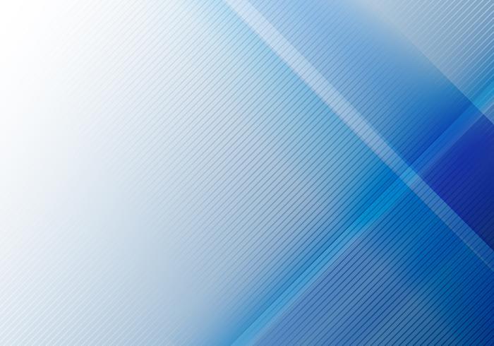 Abstrakt blå geometrisk glans och skiktelement med diagonal linjestruktur.