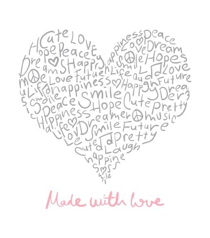 Made with love design