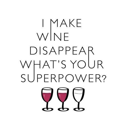 Citação engraçada sobre vinho