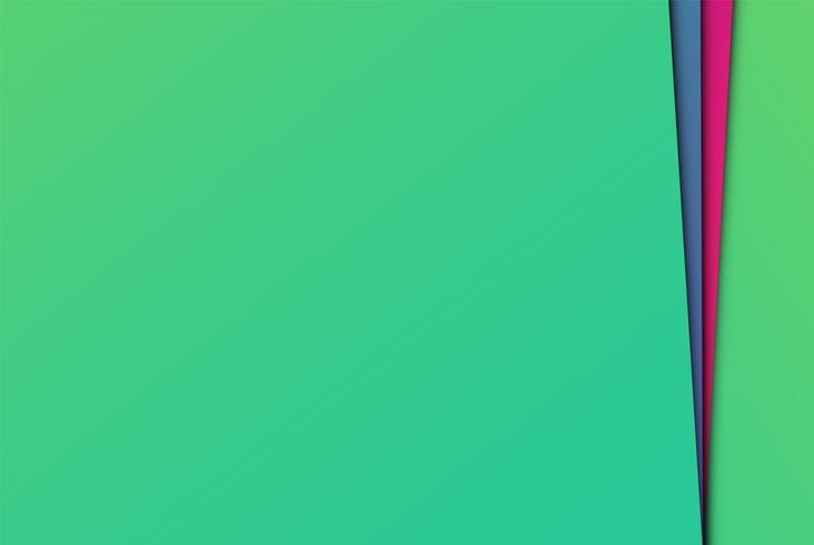 Papiers abstraits colorés, illustration vectorielle vecteur