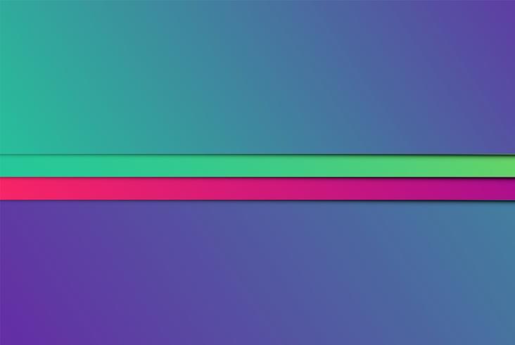 Bunte abstrakte Papiere, vektorabbildung