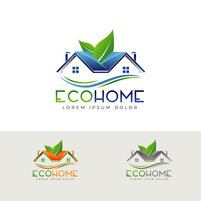 Eco Home Logo Sign Symbol Icon 602675
