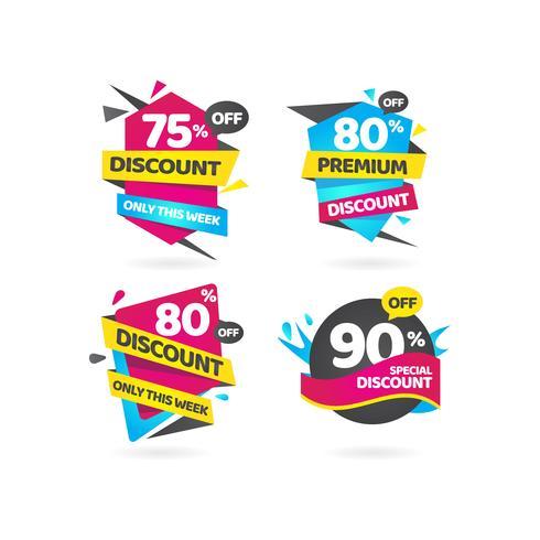 Desconto especial de venda Premium Tag Collection