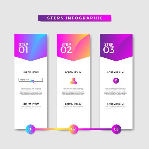 Banner Profesional Infográfico na Web