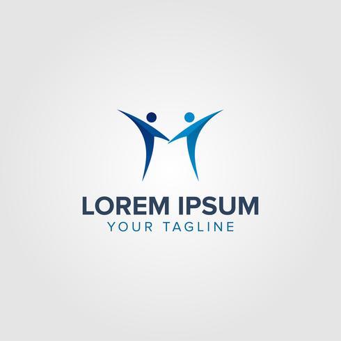 Kreative Buchstabe M Logo-Konzept-Design-Vorlagen