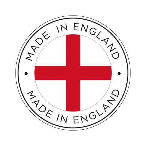 Feita no ícone de bandeira de Inglaterra.