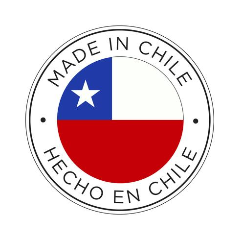 Made in Chile flag icon.