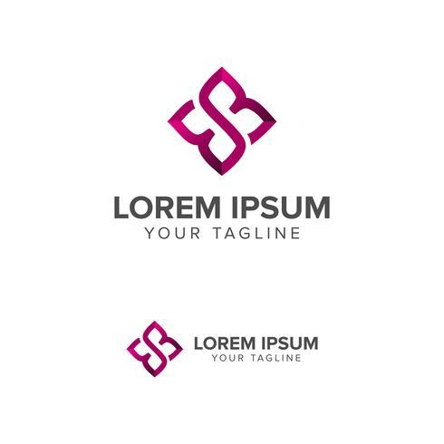 Logotipo da letra E, símbolo de forma quadrada, Digital, tecnologia, mídia
