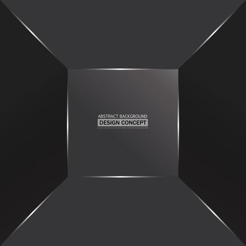 Superficies grises monocromáticas abstractas en fondo de profundidad